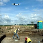 Excavations at Manchester Airport