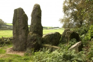 Bridestones Neolithic burial chamber