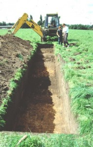 Archaeological Evaluation Trench, Middlewich
