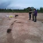 Excavations at Southworth Hall, Warrington 2014